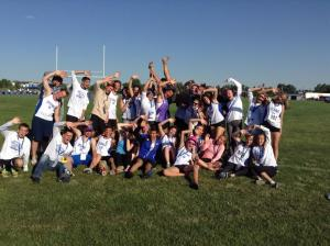 2014 Zone 8 ASG Track and Field Team