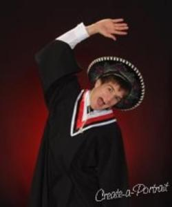 Hayden Hollowell had a great meet at the 2012 Alberta High School Provincials