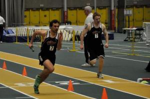 Eric Martinek #7 placed 2nd in the 1000m at the 2013 Rick Scott Invitational