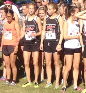 Mirelle Martens (58) and Jamie Wigmore (45) at the start of ACAC #4