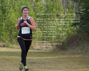 Graduating athlete Amanda Patteson was named a CCAA Academic All Canadian