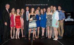 Wolves XC 2015 Academic Team of the Year at GPRC