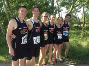 Six WAC athletes = 4 wins, 1 second, and 1 5th at the 2015 DHT Press Run