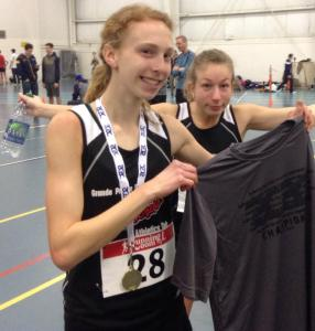 Mirelle Martens (foreground) has been selected to Team Canada for the 2015 Pan Am Junior Championships