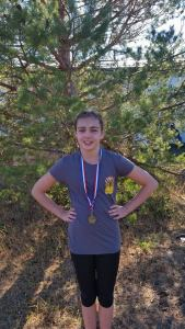 Mairen Lawson - 2015 NW Zone Junior Girls XC Running Champion