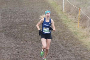 Mirelle Martens placed 8th in the Junior Women's race at the 2015 AC National XC Running Chmapionships