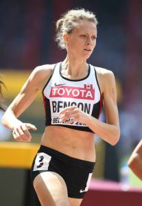 Fiona Benson represented Canada and the 2015 World Track and Field Championship in Beijing, China