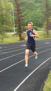Spirit River's Eric Nooy had a strong meet with wins in the Intermediate Men's 800, 1500, and 3000